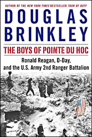 Detail from the cover of 'The Boys of Pointe du Hoc'