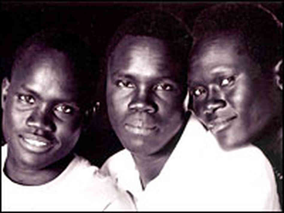 Benson Deng, Alephonsion Deng, and Benjamin Ajak
