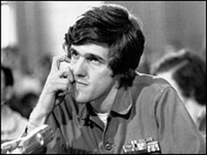 Kerry appears before the Senate Foreign Relations Committee on April 22, 1971.