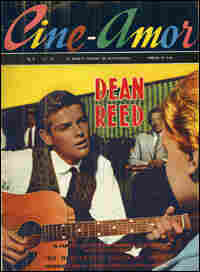 Reed on the cover of Cine-Amor