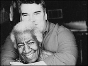 Scott Peacock and the late Edna Lewis