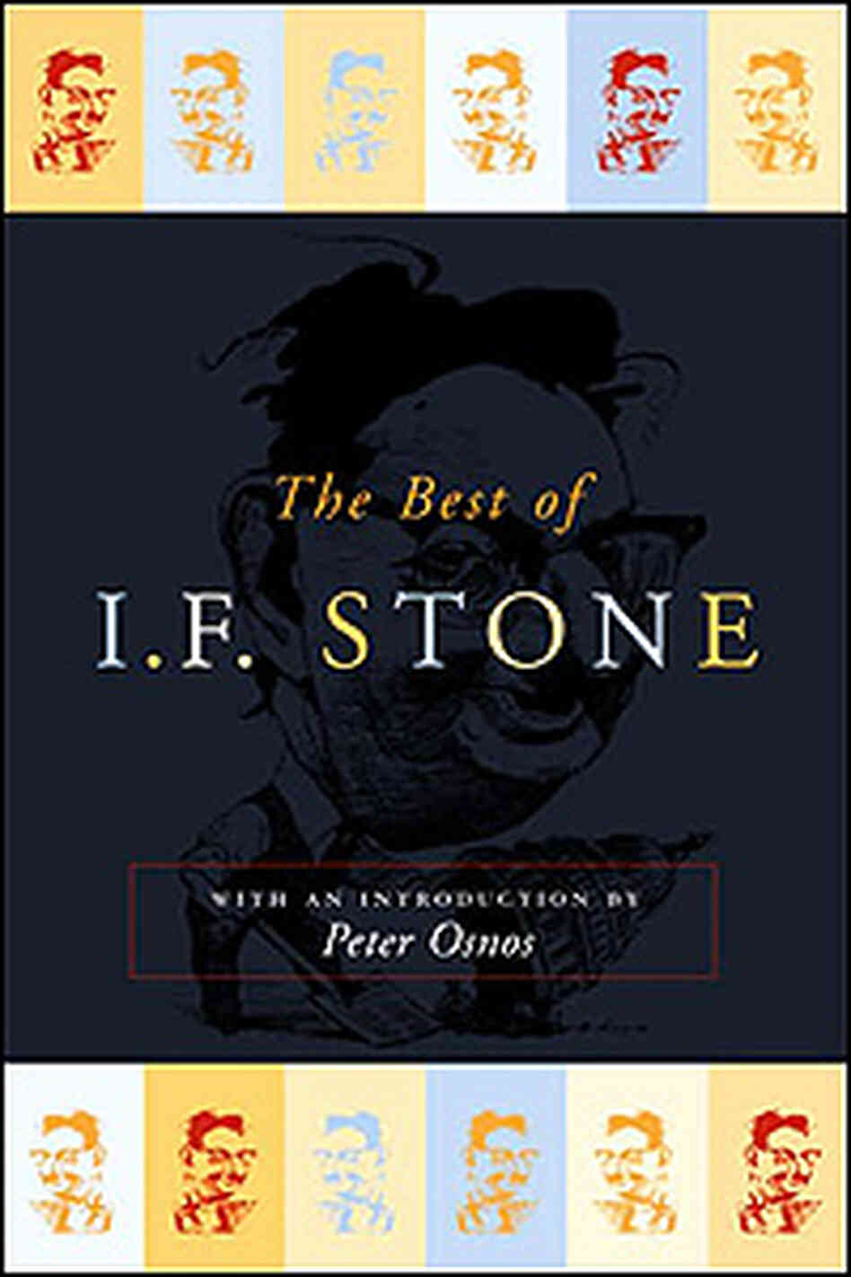 A caricature of I.F. Stone pays fond tribute to the investigative journalist on his collected work