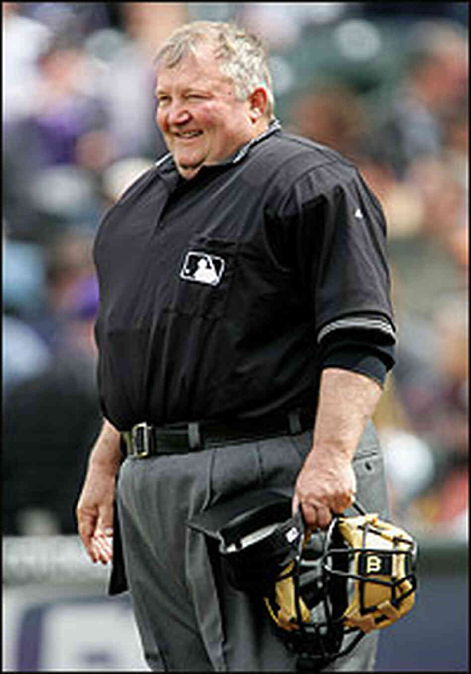Umpire Celebrates 37 Years With The Major League Npr
