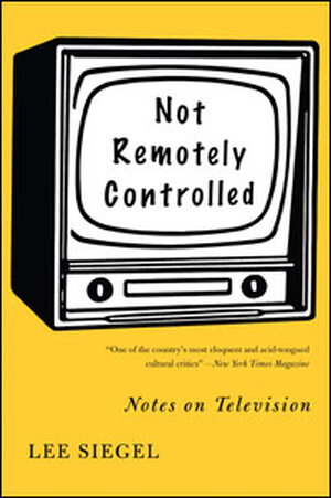 Book Cover: Not Remotely Controlled