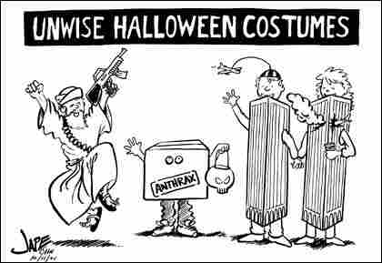 Unwise Halloween Costume Cartoon