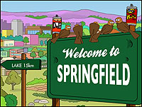 Illustration of Springfield sign