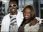Kanye and Donda West, May 2007.