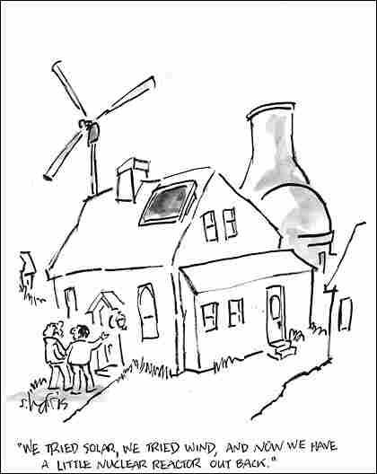 Nuclear Reactor Cartoon
