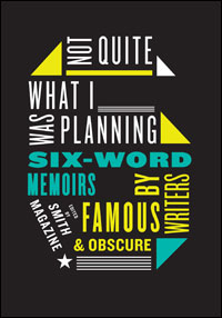 Six Word Memoir Book Cover