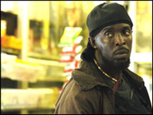 Actor Michael Kenneth Williams.