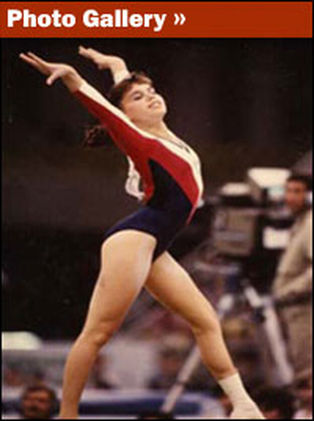 After breaking her femur in a fall from the uneven bars, Jennifer Sey came back to win the 1986 National Championships. It was a remarkable recovery, but it took a tremendous emotional and physical toll.
