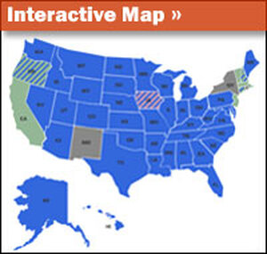 Gay Marriage Map