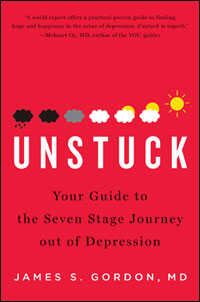 """Book Cover of """"Unstuck"""" by James Gordon"""