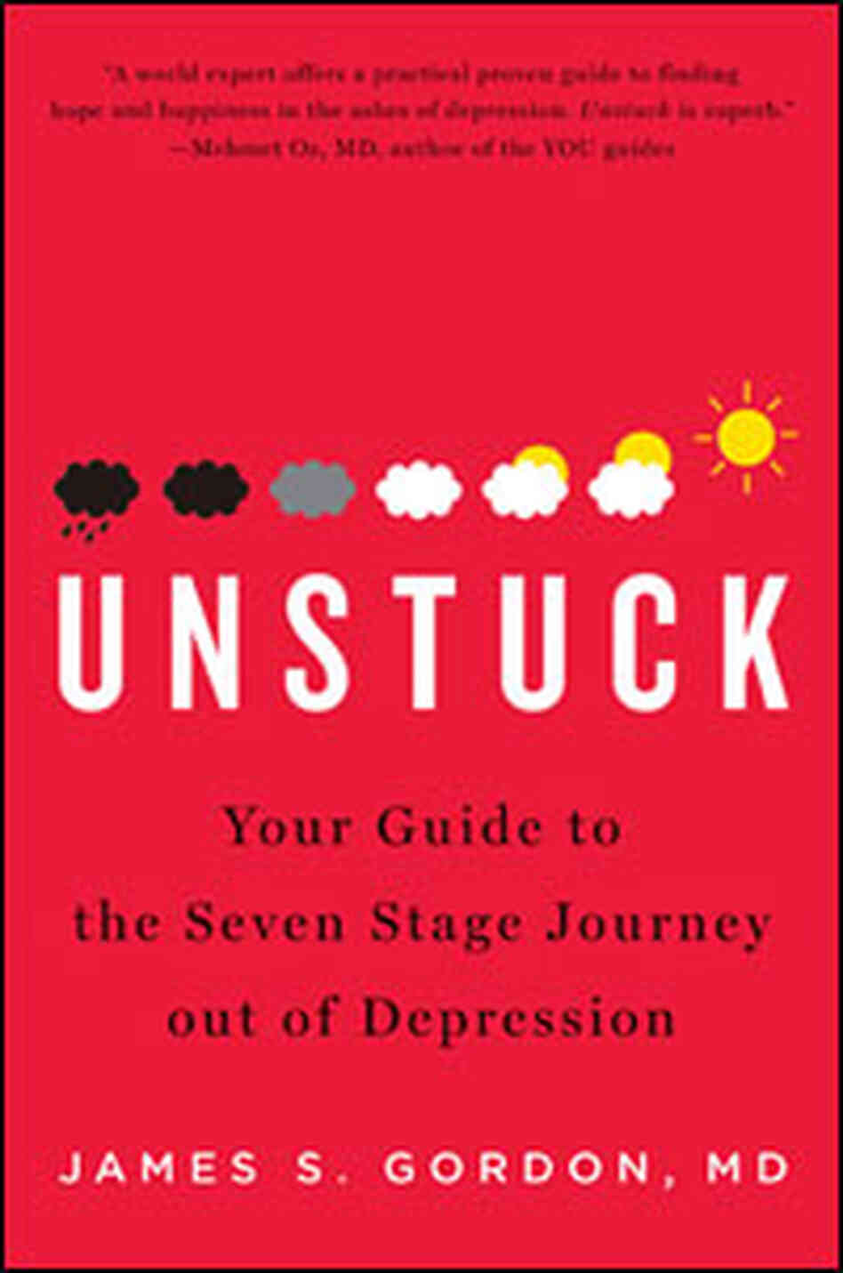 "Book Cover of ""Unstuck"" by James Gordon"