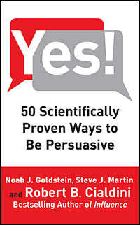 """Book Cover of """"Yes"""""""