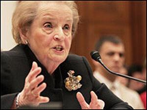 Former Secretary of State Madeleine Albright