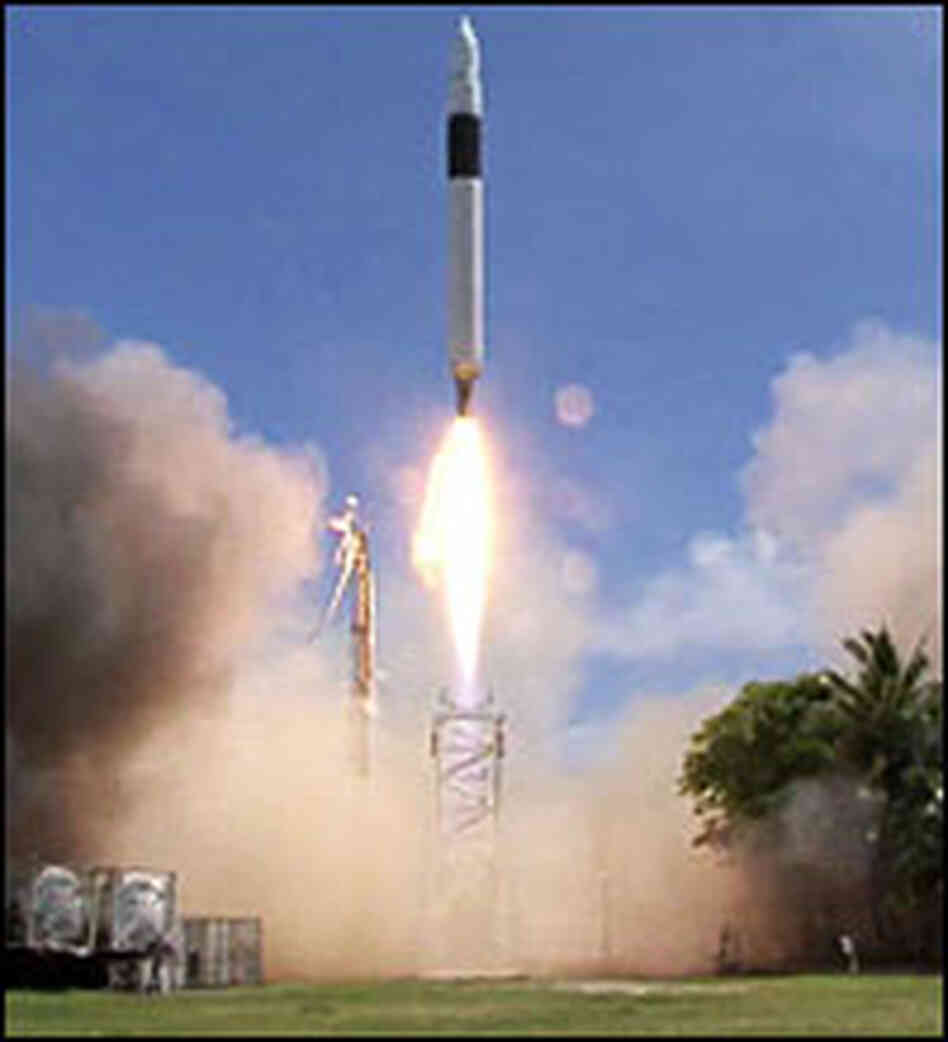 Falcon1 rocket launch