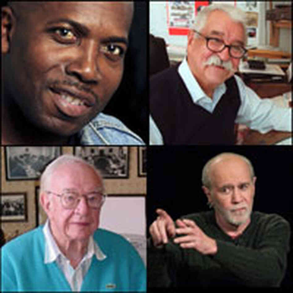Obit Montage: Palacio, Melendez, Ball and Carlin