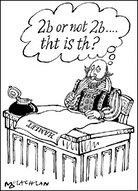 Cartoon imagines Shakespeare writing with 'txt' language.
