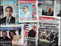 Front Pages Of Newspapers