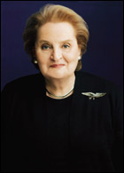 Former Secretary of State Madeleine Albright'