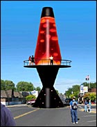 Giant Lava Lamp