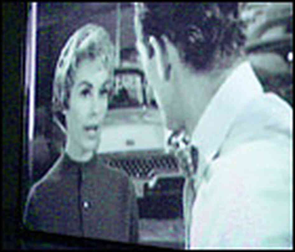 Douglas Gordon's '24 Hour Psycho' Freezes actress Janet Leigh in 'Psycho,' the Hitchcock classi