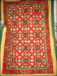 A quilt by Lucy Marie Mingo.