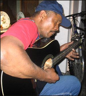 New Orleans neighborhood blues man, Stoney B.
