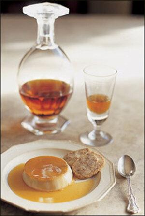 Bourbon panna cotta