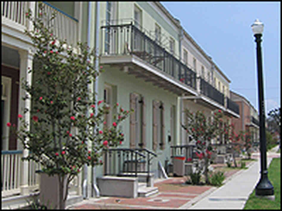 New Orleans 39 Controversial Public Housing Model Npr