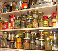 Jaffrey's spice cabinet