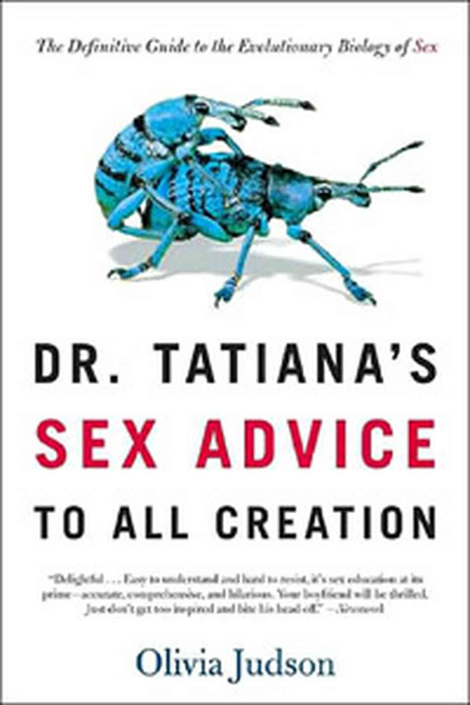 Book jacket for Dr Tatiana's Sex Advice To All Creation