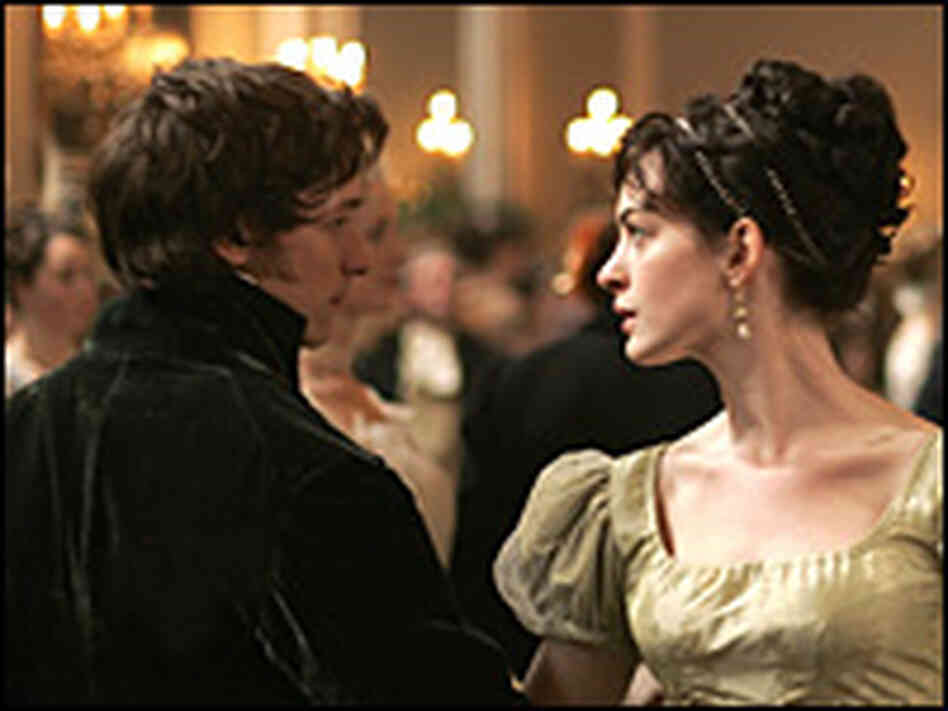 James McAvoy and Anne Hathaway dancing