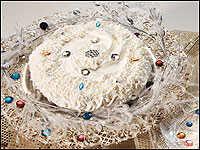 Angel Bling Cake Pie
