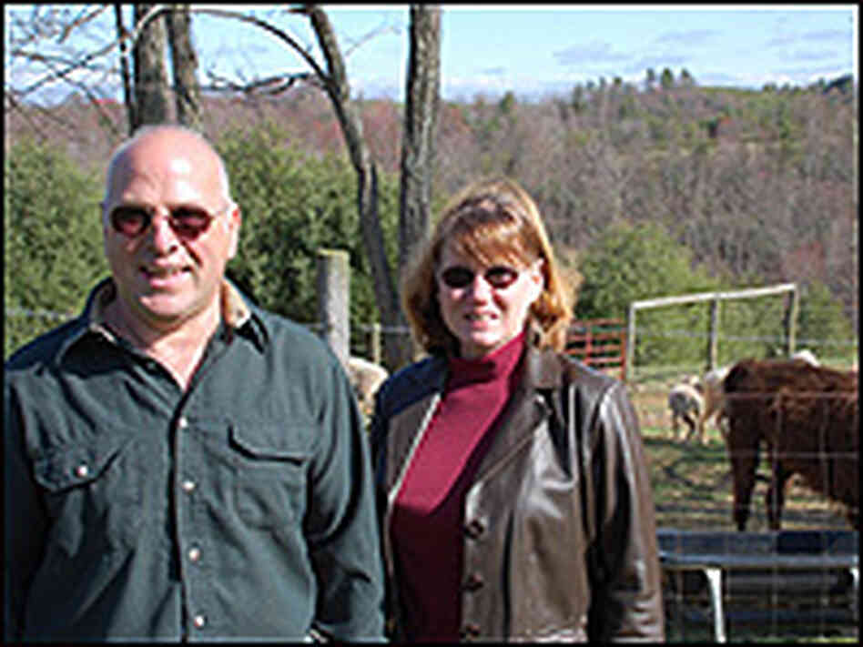 John and Mary Peluso at home in Indian Valley, Va.