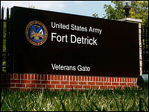 Fort Detrick Army Medical Research Institute of Infectious Diseases in Frederick, Md.