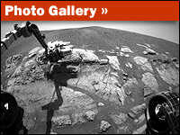 Photo Gallery on Images Taken by Mars Rovers