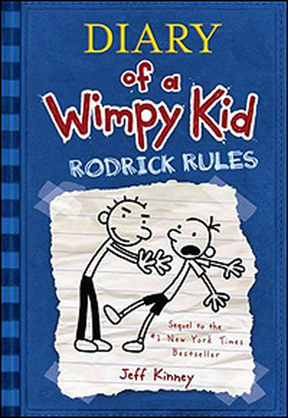 'Diary of a Wimpy Kid: Rodrick Rules' Book Cover