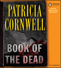 'Book of the Dead' by Patricia Cornwell audiobook cover