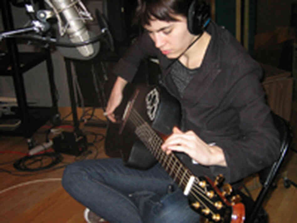 Kaki King in the Studio