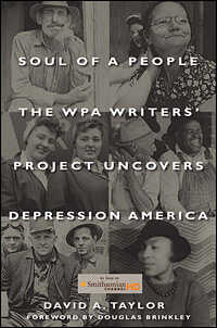 Book cover, 'Soul Of A People: The WPA Writers' Project Uncovers Depression America'