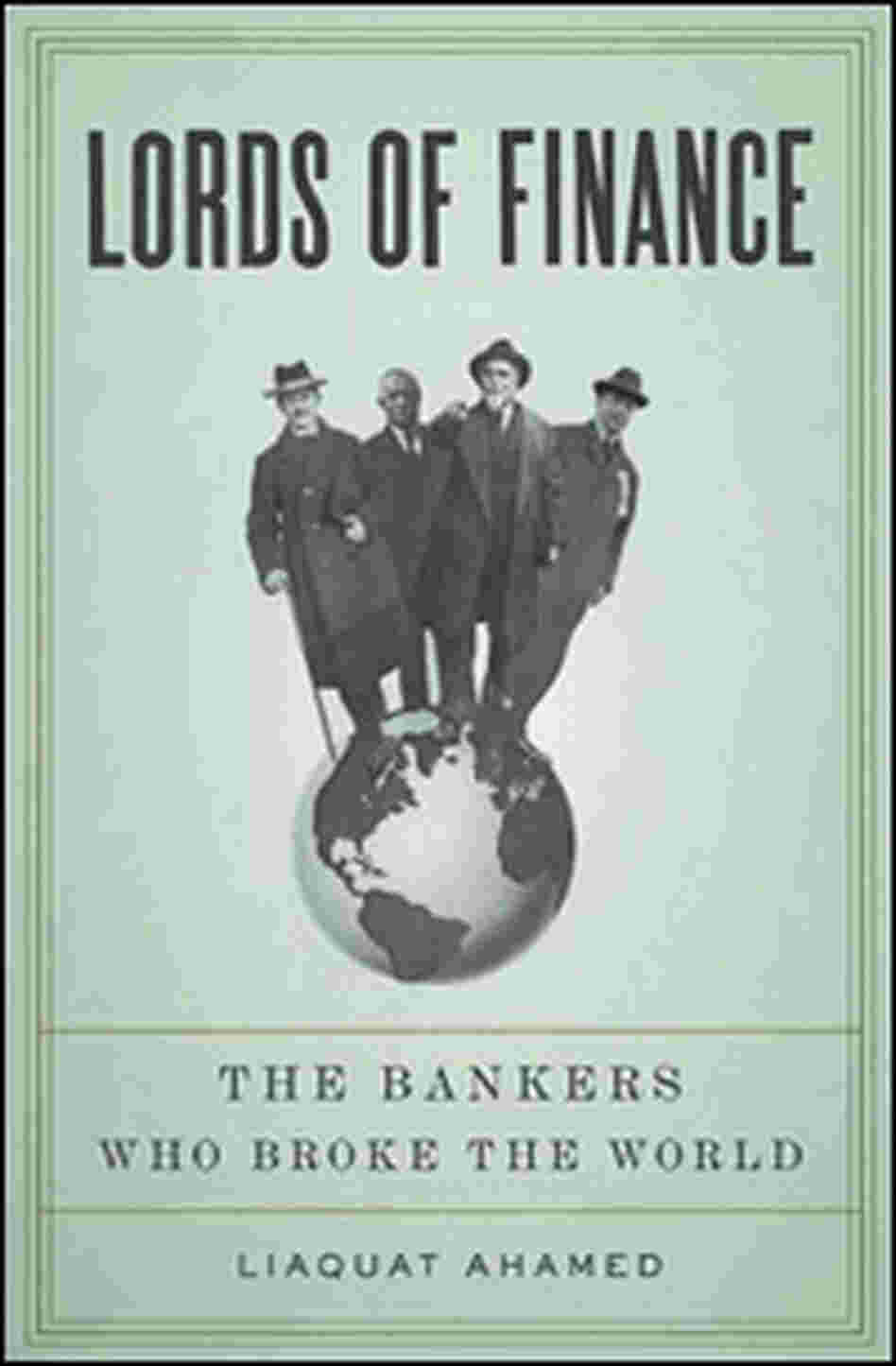 'Lords of Finance' cover