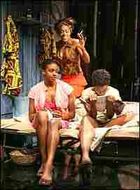 Sophie (Condola Rashad), Josephine (Cherise Boothe Quincy) and Salima (Tyler Bernstine)