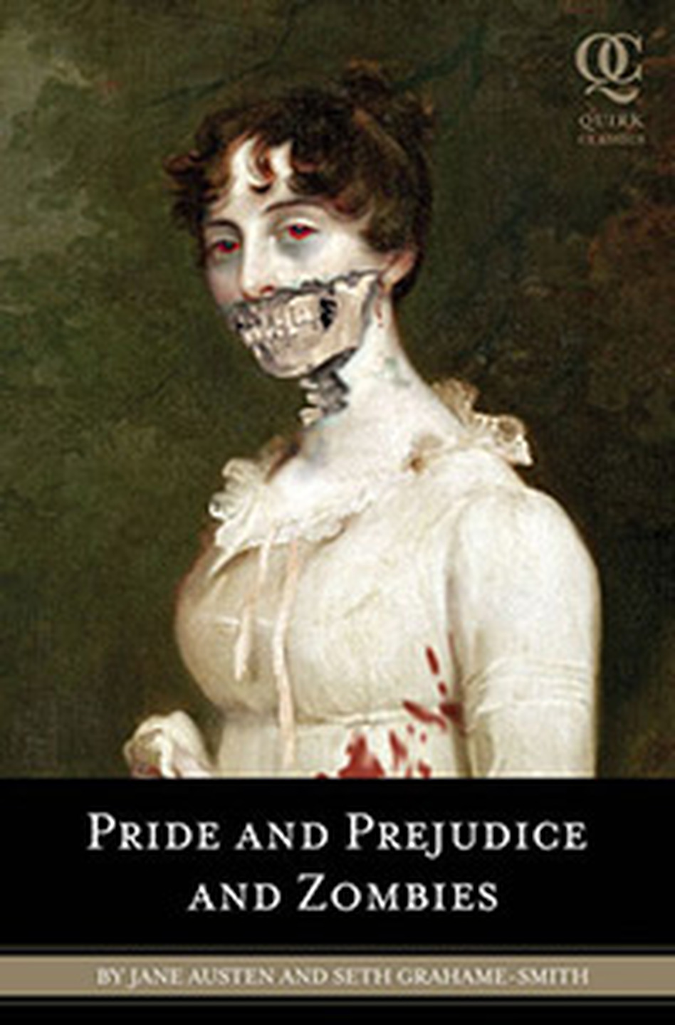 "The book <em>Pride and Prejudice and Zombies</em> adds an incongruous twist to Jane Austen's stately satire. ""Every page seemed to have something that was subconsciously put there by Jane Austen to be twisted into a gory zombie-fest,"" author Seth Grahame-Smith told <em>All Things Considered</em>."