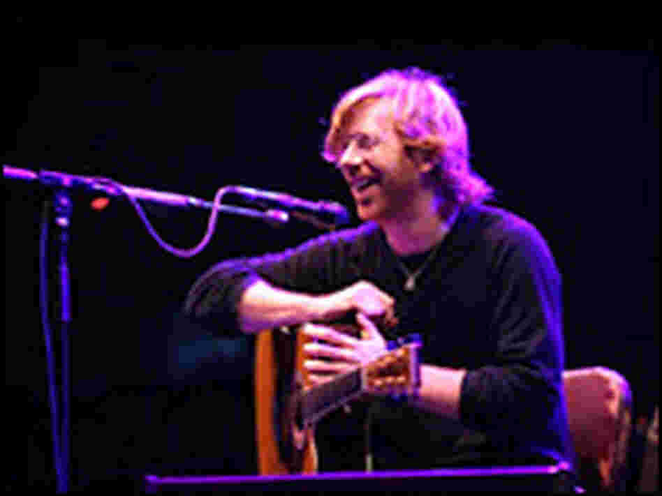 Alone on stage: Trey Anastasio's new music builds on his guitar talents.