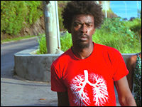 Seu Jorge's talents have helped him escape the slums of Rio de Janeiro.