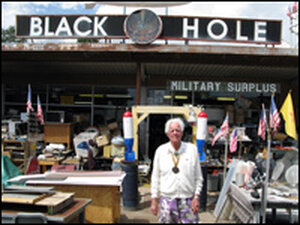 'Atomic Ed' at the Black Hole.