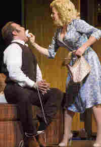 Marc Kudisch and Megan Hilty in '9 to 5'