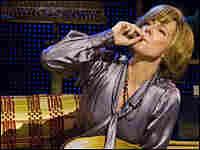Alison Janney smokes